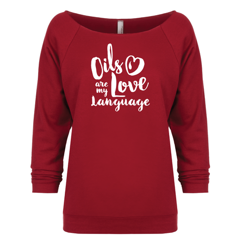 Love Language - 3/4 Sleeve Raglan