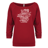 Serenity (oil) Prayer - 3/4 Sleeve Raglan Essential Oil Style young living tshirts funny oil shirts popular oil shirts doterra tshirts convention shirts