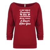 Sorry - 3/4 Sleeve Raglan Essential Oil Style young living tshirts funny oil shirts popular oil shirts doterra tshirts convention shirts