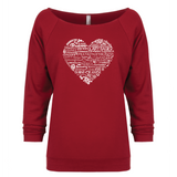 Whimsical Heart - 3/4 Sleeve Raglan Essential Oil Style young living tshirts funny oil shirts popular oil shirts doterra tshirts convention shirts
