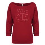 WINE and OILS: my essentials - 3/4 Sleeve Raglan Essential Oil Style young living tshirts funny oil shirts popular oil shirts doterra tshirts convention shirts