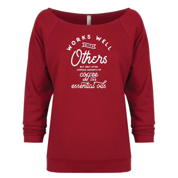 Works Well With Others 3 4 Sleeve Raglan