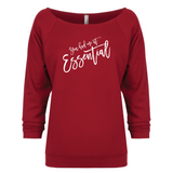 You had me at Essential - 3/4 Sleeve Raglan Essential Oil Style young living tshirts funny oil shirts popular oil shirts doterra tshirts convention shirts