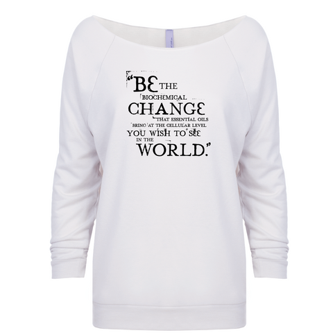 Be the Change - 3/4 Sleeve Raglan
