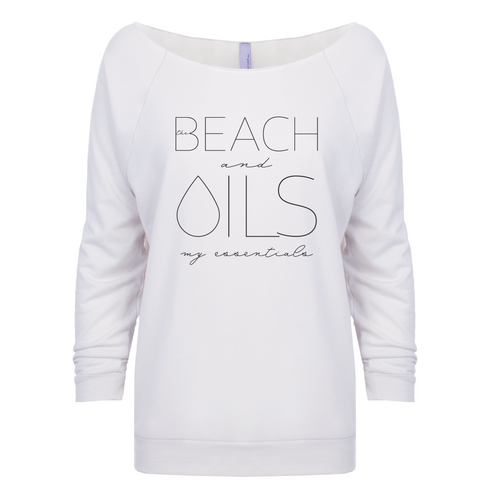 BEACH and OILS: my essentials - 3/4 Sleeve Raglan