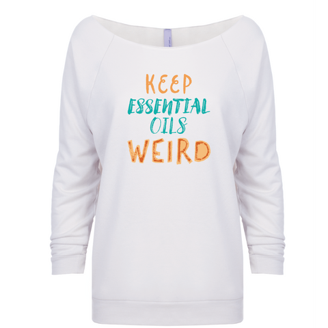 Keep Essential Oils Weird - 3/4 Sleeve Raglan