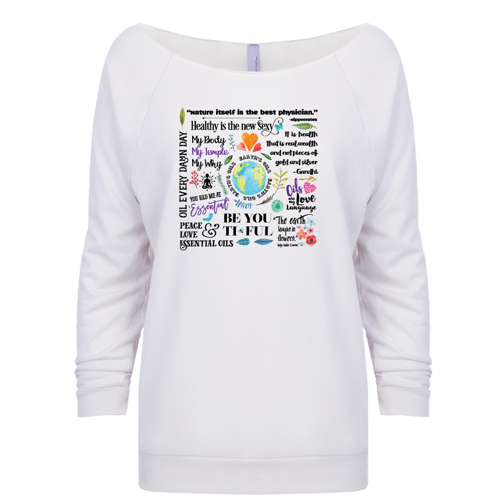The Oil Lifestyle (black letters) - 3/4 Sleeve Raglan Essential Oil Style young living tshirts funny oil shirts popular oil shirts doterra tshirts convention shirts