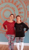 YOGA and OILS: my essentials - 3/4 Sleeve Raglan Essential Oil Style young living tshirts funny oil shirts popular oil shirts doterra tshirts convention shirts
