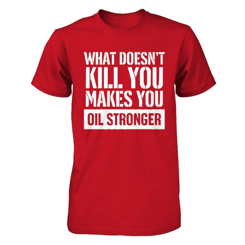 Oil Stronger - Men's / Unisex Crew Essential Oil Style young living tshirts funny oil shirts popular oil shirts doterra tshirts convention shirts