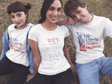 Red, White, Blue - Slim Crew Essential Oil Style young living tshirts funny oil shirts popular oil shirts doterra tshirts convention shirts