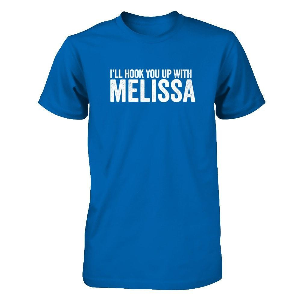 I'll Hook You Up with Melissa - Men's / Unisex Crew Essential Oil Style young living tshirts funny oil shirts popular oil shirts doterra tshirts convention shirts