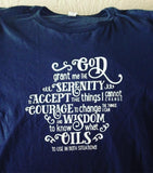 Serenity (oil) Prayer - Slim Crew Essential Oil Style young living tshirts funny oil shirts popular oil shirts doterra tshirts convention shirts