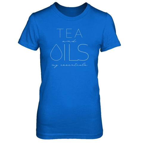 TEA and OILS: my essentials - Slim Crew