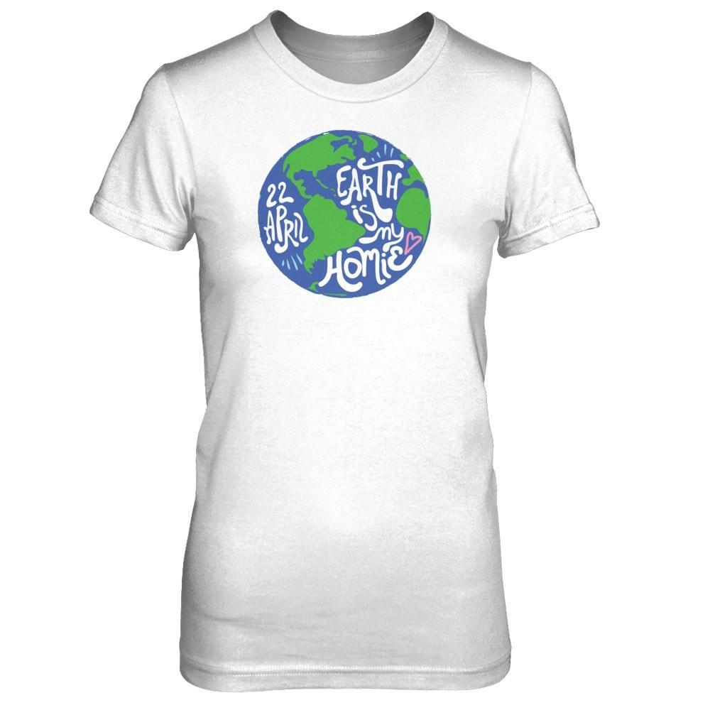Earth is my Homie -Slim Crew Essential Oil Style young living tshirts funny oil shirts popular oil shirts doterra tshirts convention shirts