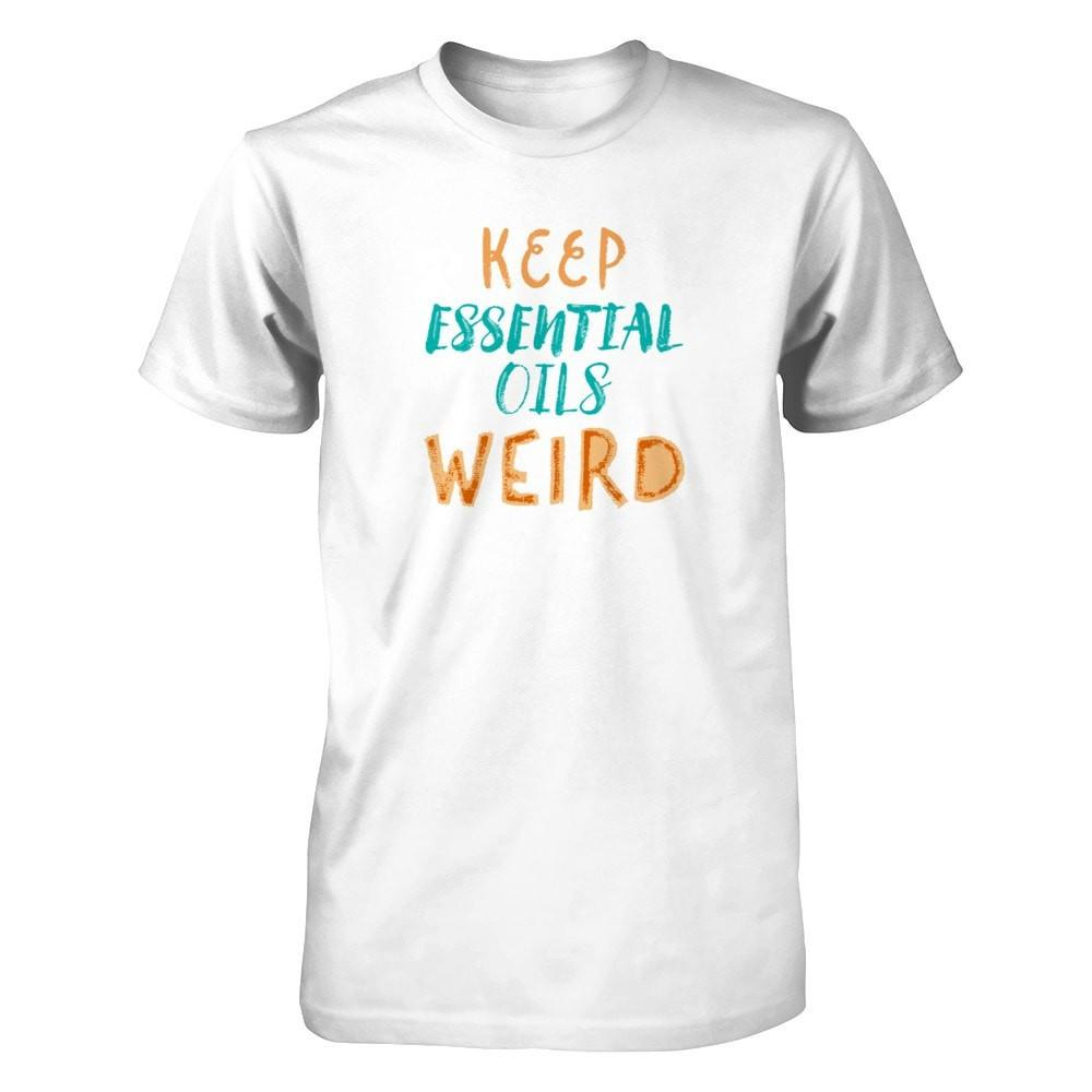 Keep Essential Oils Weird - Men's / Unisex Crew Essential Oil Style young living tshirts funny oil shirts popular oil shirts doterra tshirts convention shirts