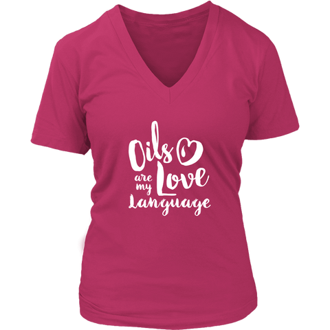Love Language - V-Neck up to 4XL