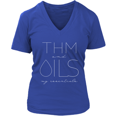 THM and OILS: my essentials - V-Neck up to 4XL
