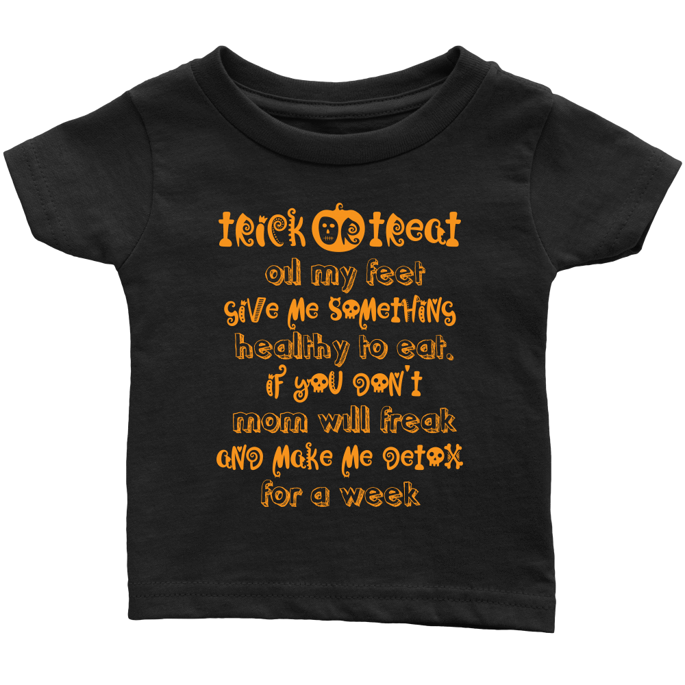 BABY TEE for Halloween - Trick or Treat, Oil My Feet Essential Oil Style young living tshirts funny oil shirts popular oil shirts doterra tshirts convention shirts