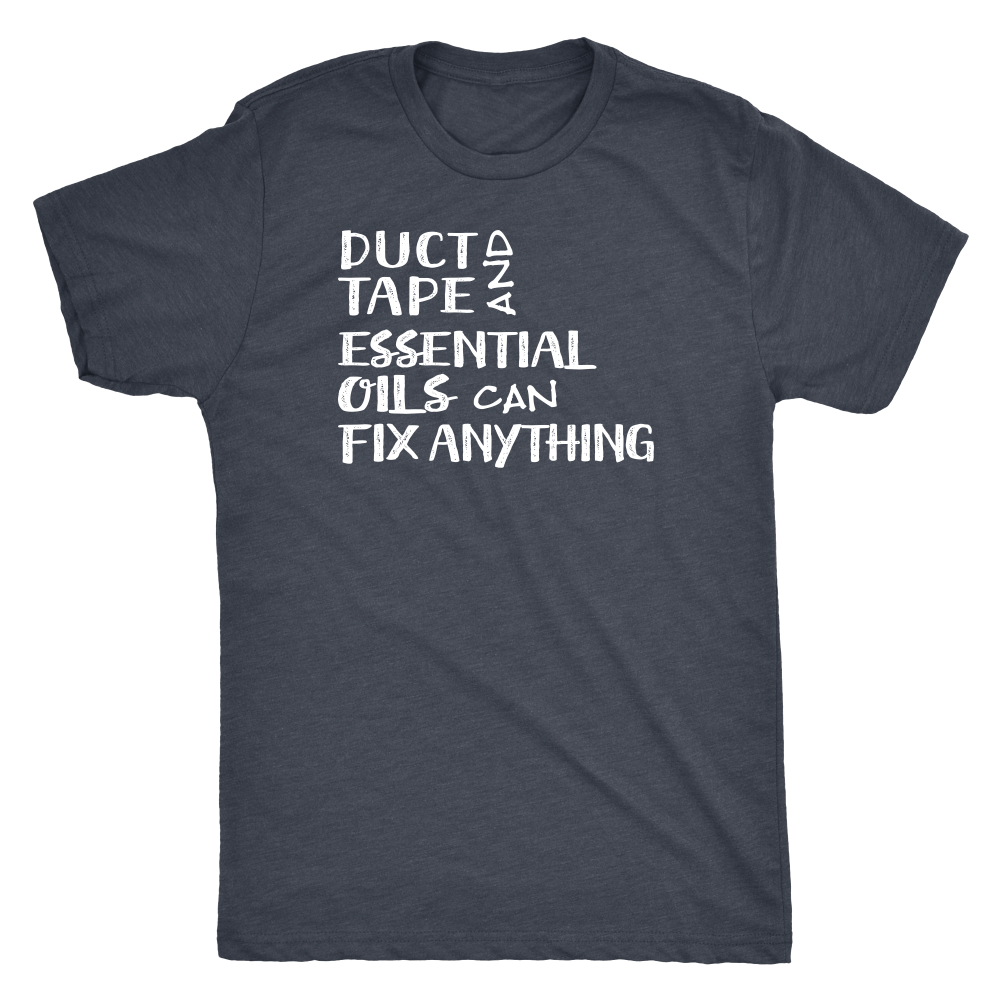 Duct Tape - Vintage Triblend Tee Essential Oil Style young living tshirts funny oil shirts popular oil shirts doterra tshirts convention shirts