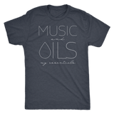 MUSIC and OILS: my essentials  - Vintage Triblend Tee Essential Oil Style young living tshirts funny oil shirts popular oil shirts doterra tshirts convention shirts