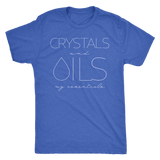 CRYSTALS and OILS: my essentials -  Vintage Triblend Tee Essential Oil Style young living tshirts funny oil shirts popular oil shirts doterra tshirts convention shirts