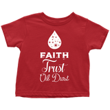 TODDLER TEE - Faith • Trust • Oil Dust Essential Oil Style young living tshirts funny oil shirts popular oil shirts doterra tshirts convention shirts