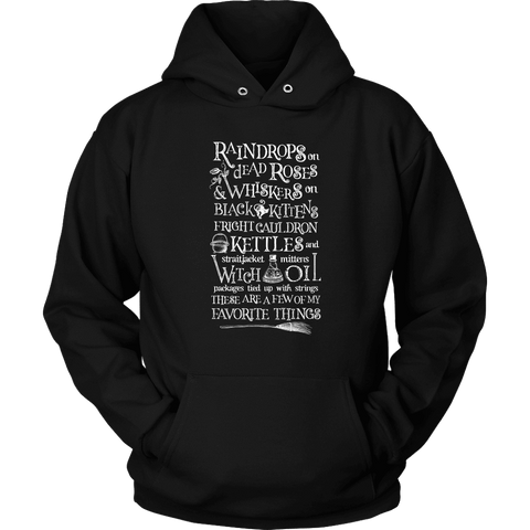 My Favorite Things (Halloween) -  Unisex Pullover Hoodie