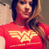 AKA Wellness Advocate  - Slim Fitted Crew Essential Oil Style young living tshirts funny oil shirts popular oil shirts doterra tshirts convention shirts