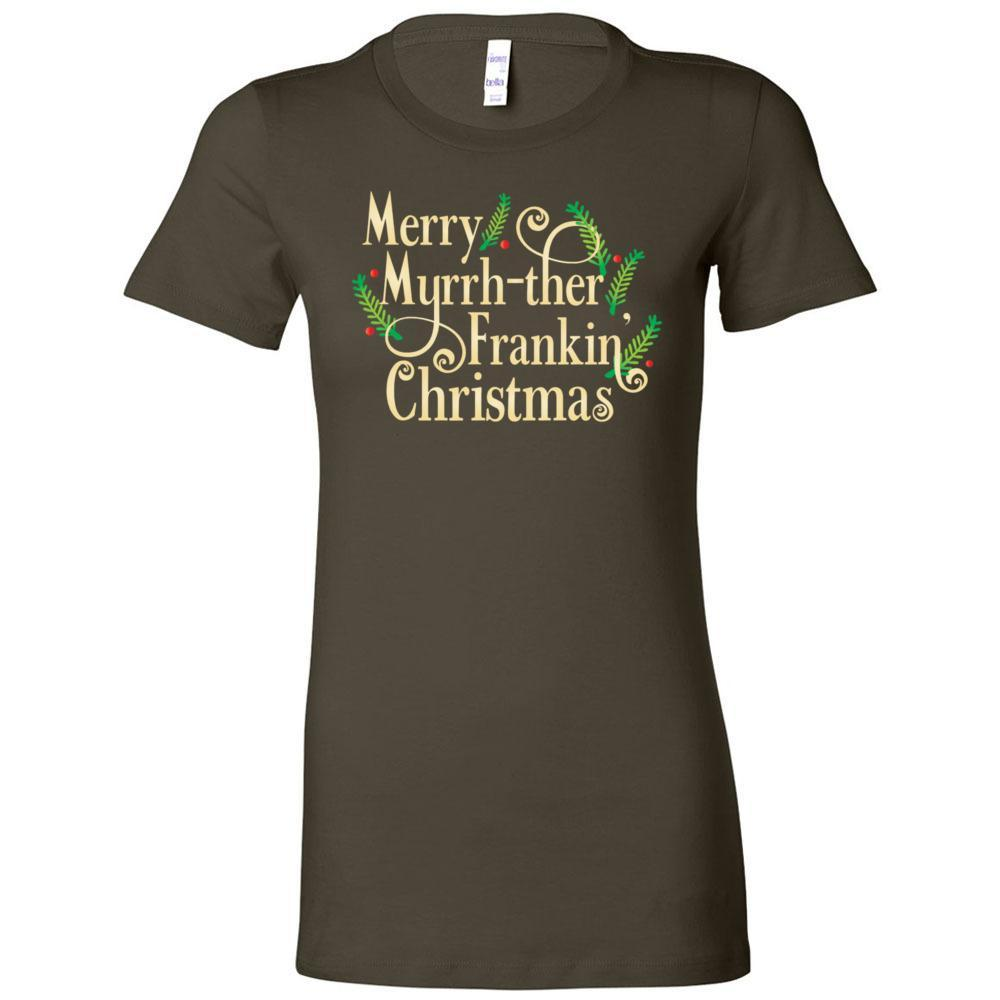 Merry Mf xmas - Women's The Favorite Tee Essential Oil Style young living tshirts funny oil shirts popular oil shirts doterra tshirts convention shirts