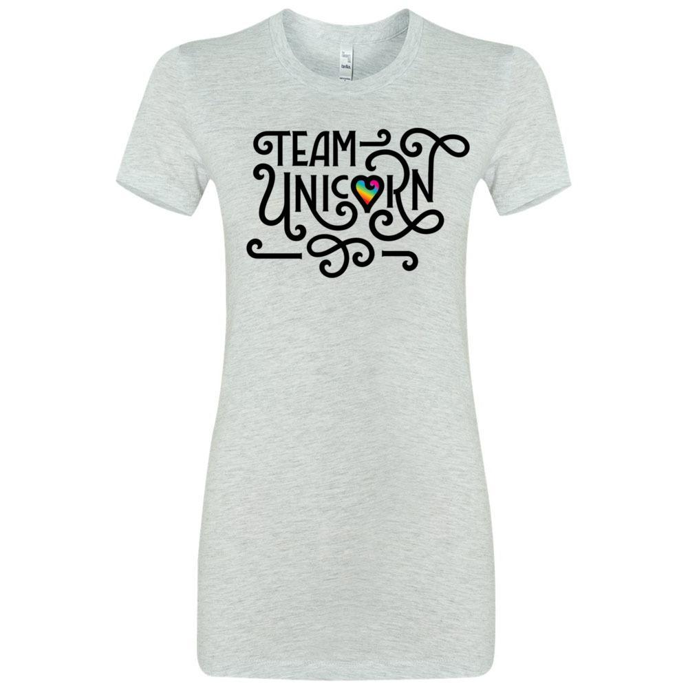 Team Unicorn - Slim Fitted Crew | 13 Colors