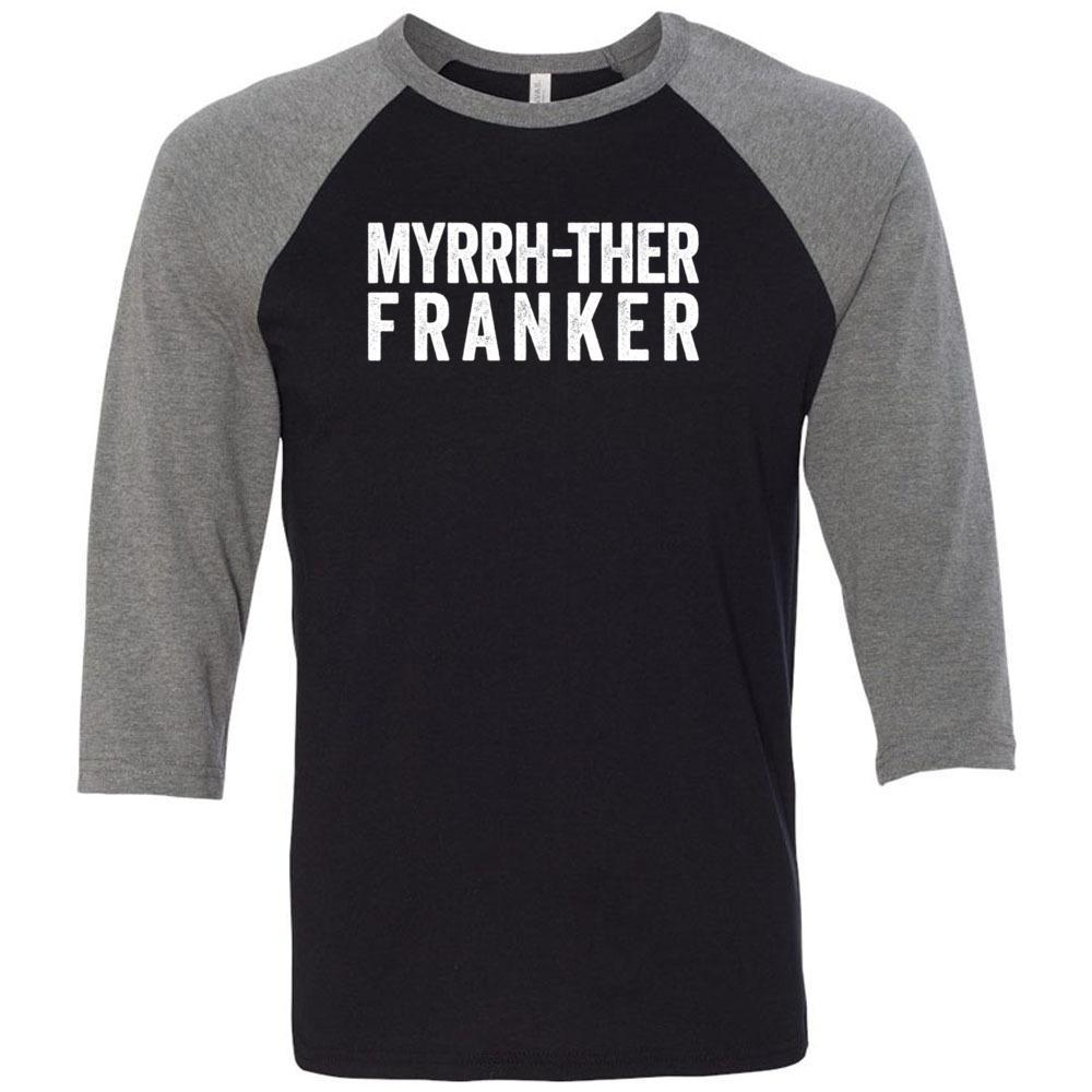 Myrrh-ther Franker - Unisex Classic Baseball Tee | 8 colors Essential Oil Style young living tshirts funny oil shirts popular oil shirts doterra tshirts convention shirts
