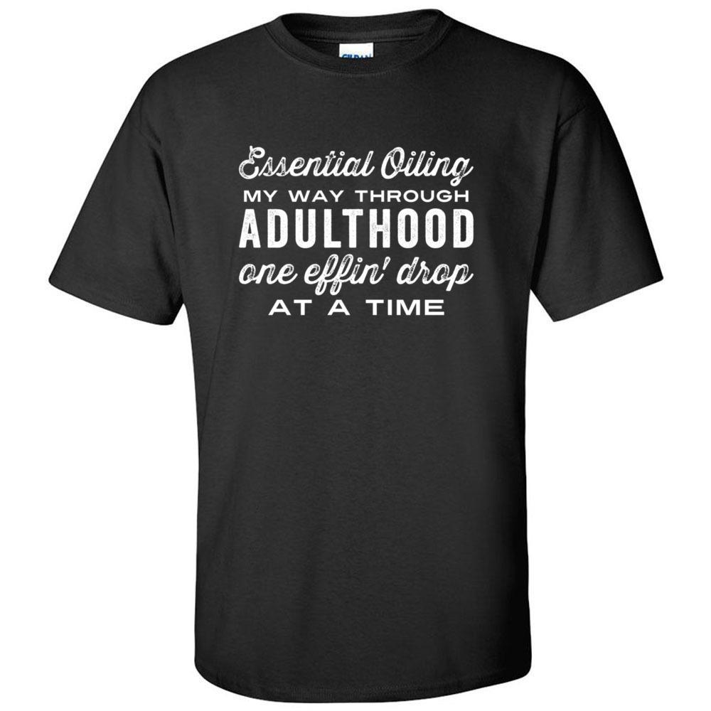 Adulthood one effin' drop at a time - Ultra Cotton Crew | 12 Colors