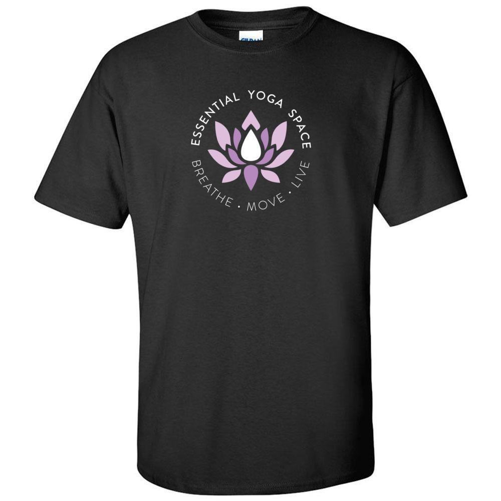 Essential Yoga Space Logo - Unisex Ultra Cotton Crew T-Shirt