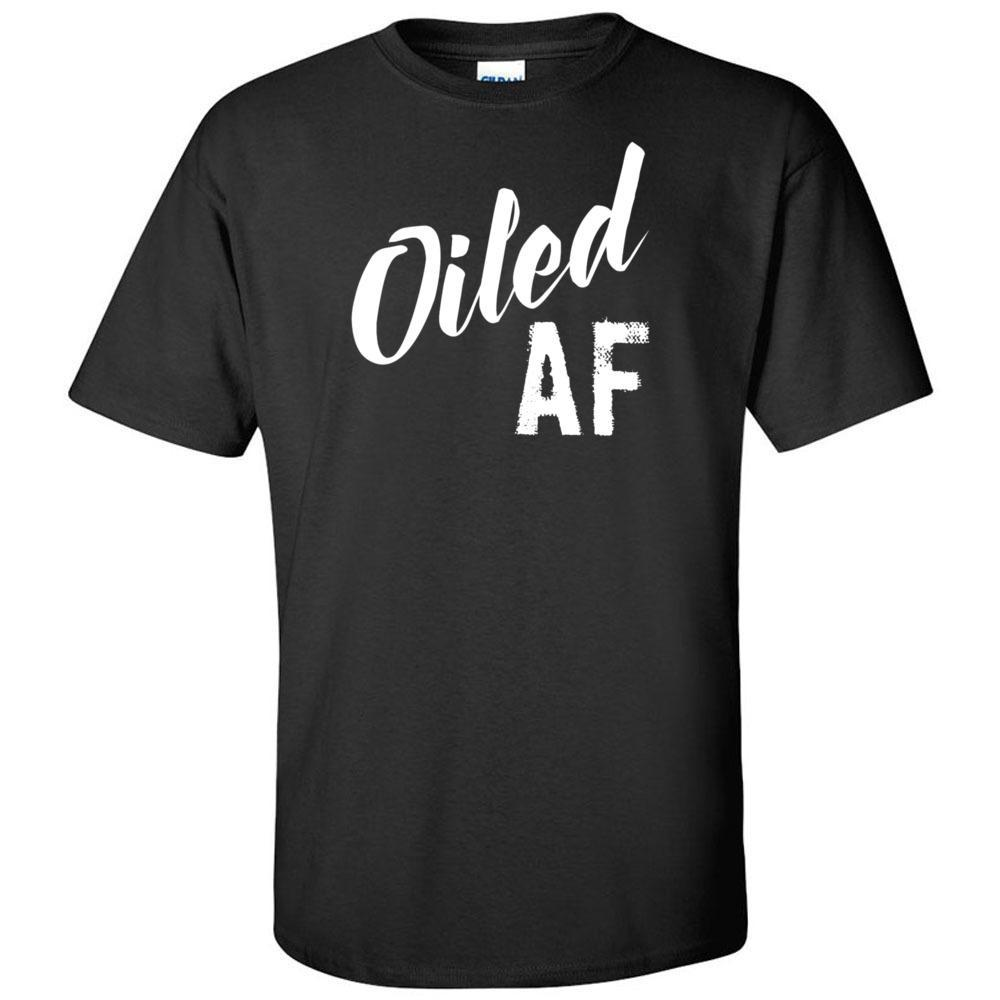 Oiled AF - Ultra Cotton Crew | 12 Colors Essential Oil Style young living tshirts funny oil shirts popular oil shirts doterra tshirts convention shirts