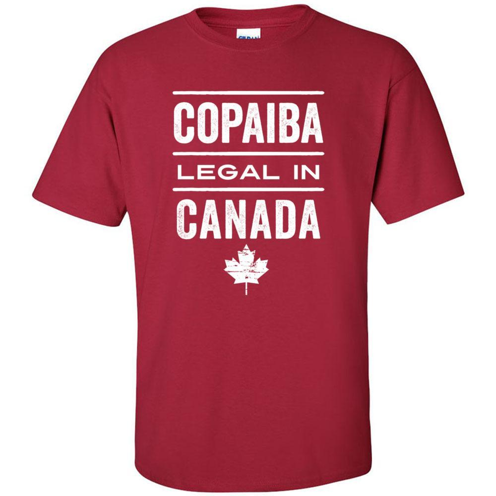 COPAIBA: Legal in CANADA 🇨🇦 - Unisex Crew | 12 colors | sizes up to 5XL Essential Oil Style young living tshirts funny oil shirts popular oil shirts doterra tshirts convention shirts