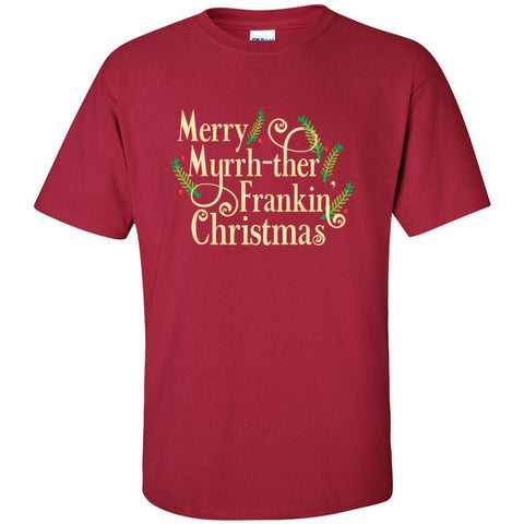 Merry Myrrh-ther Frankin' Christmas   - Ultra Cotton Crew | 10 Colors