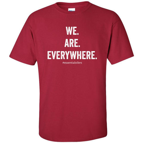 WE ARE EVERYWHERE - Ultra Cotton Crew | 12 Colors |