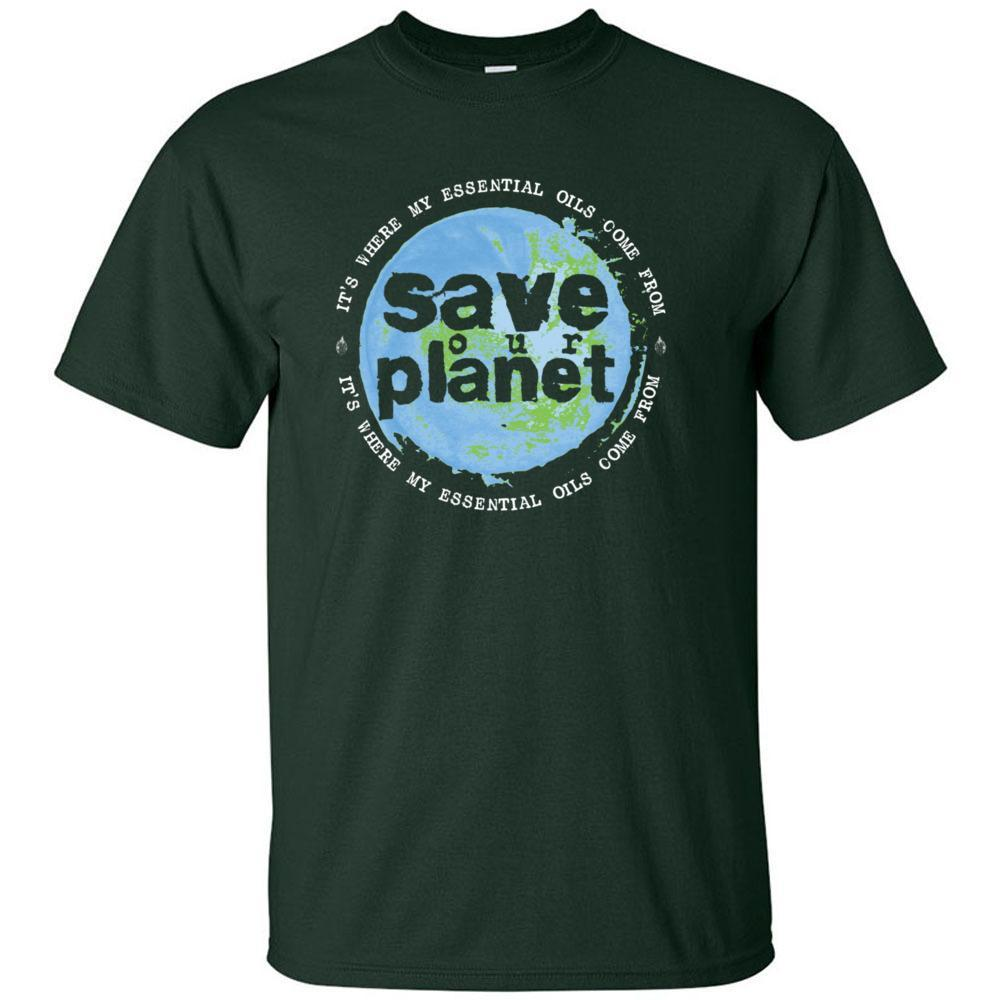 SAVE our PLANET: It's where my essential oils comes from  - Ultra Cotton Crew | 12 Colors