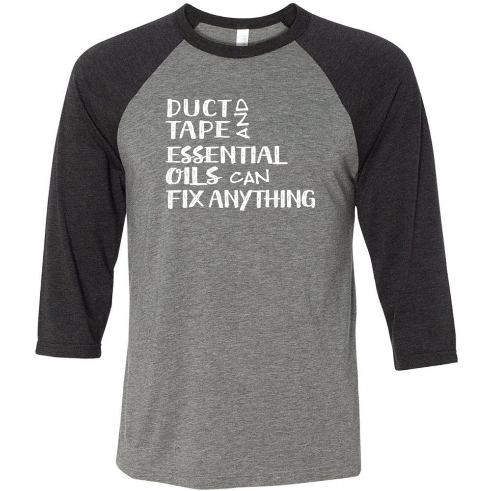Duct Tape - Unisex Classic Baseball Tee | 8 colors Essential Oil Style young living tshirts funny oil shirts popular oil shirts doterra tshirts convention shirts