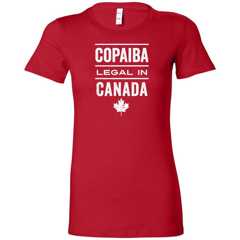 COPAIBA: Legal in CANADA 🇨🇦 - Slim Fitted Crew | 13 Colors