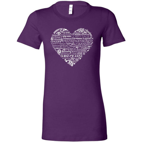 Whimsical Heart - Slim Fitted Crew | 13 Colors