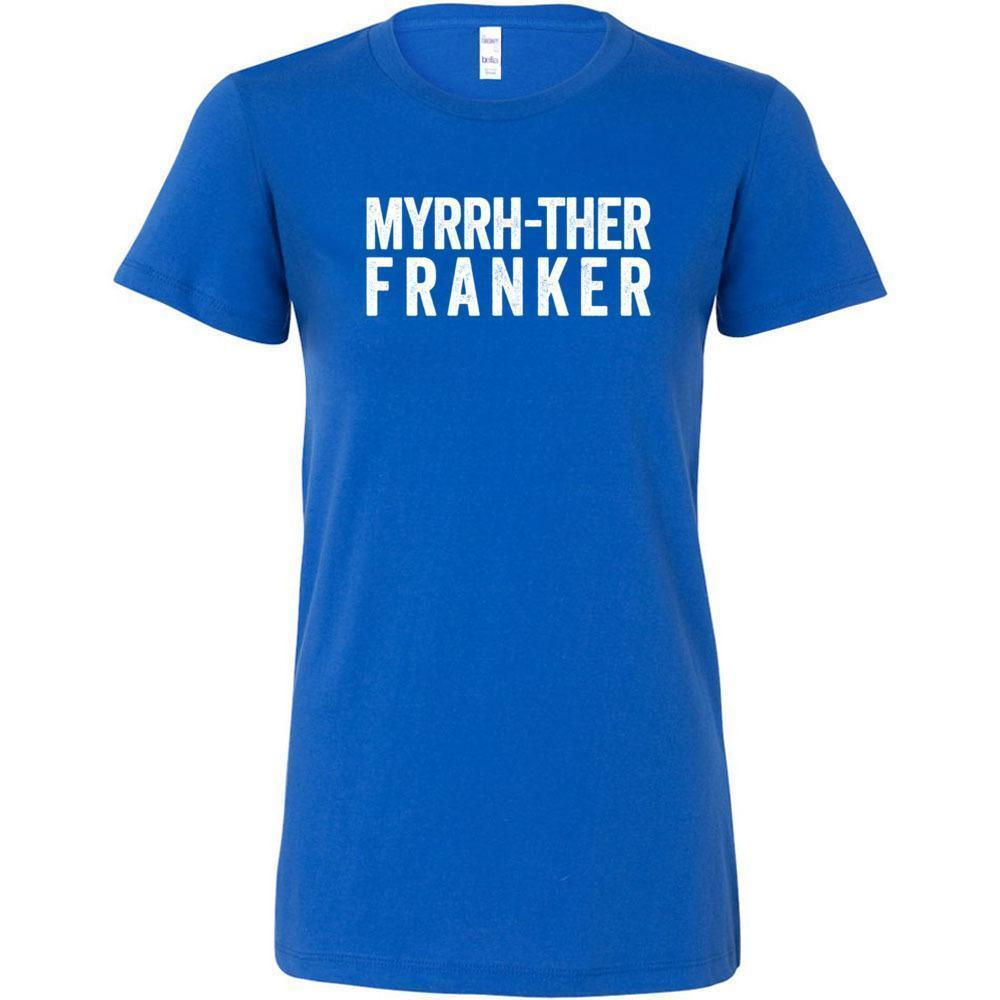 Myrrh-ther Franker - Slim Fitted Crew | 13 Colors (Outlet Product) Essential Oil Style young living tshirts funny oil shirts popular oil shirts doterra tshirts convention shirts