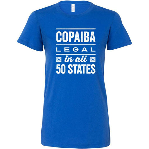 COPAIBA: Legal in all 50 States - Slim Fitted Crew | 13 Colors
