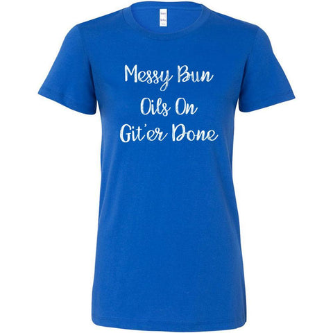 Messy Bun - Slim Fitted Crew | 13 Colors