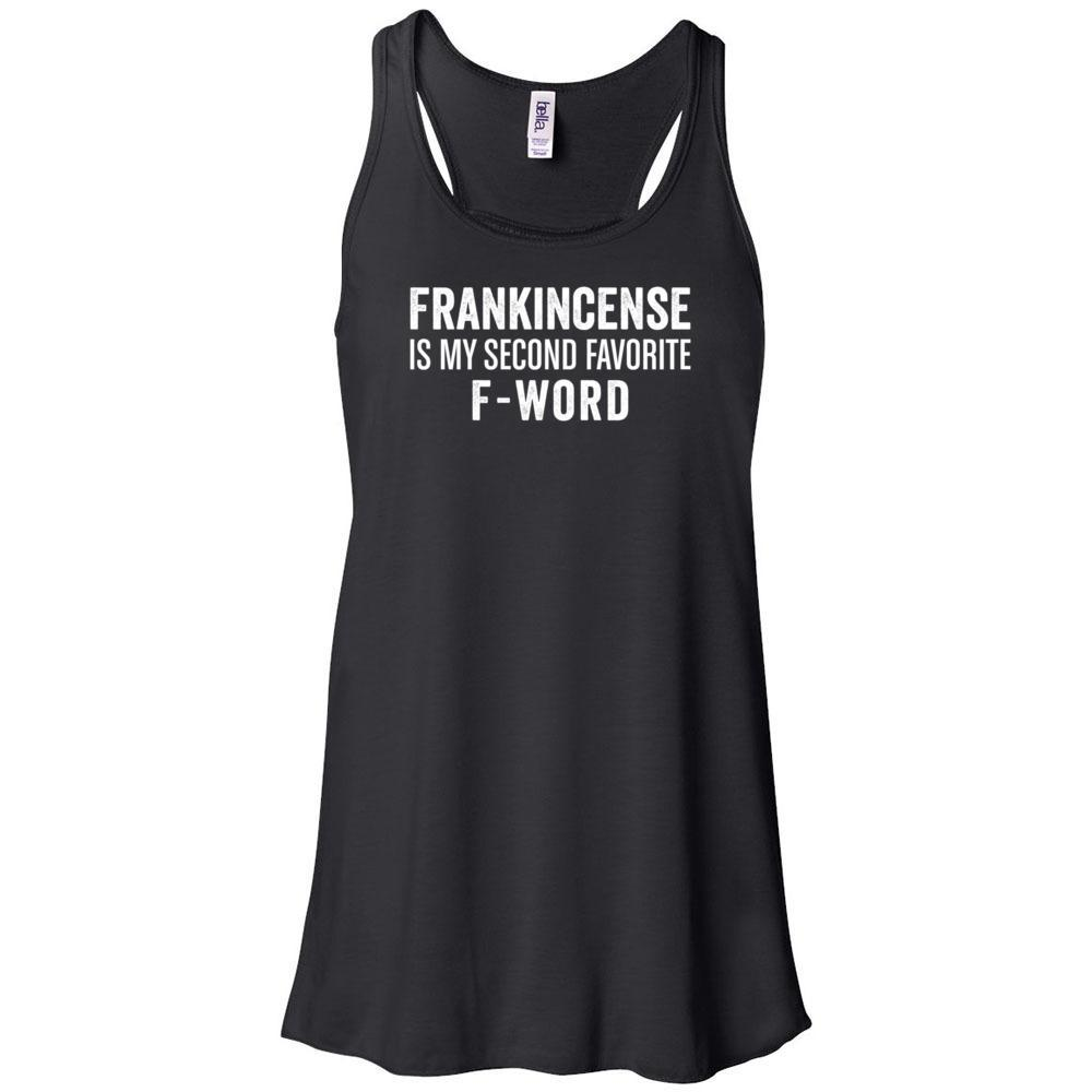 F-word - Women's Flowy Racerback Tank Essential Oil Style young living tshirts funny oil shirts popular oil shirts doterra tshirts convention shirts