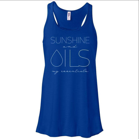 SUNSHINE and OILS: my essentials - Women's Flowy Racerback Tank