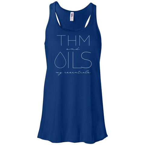 THM and OILS: my essentials - Women's Flowy Racerback Tank