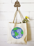Market Tote - Earth Is My Homie Essential Oil Style young living tshirts funny oil shirts popular oil shirts doterra tshirts convention shirts