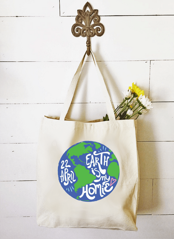 Market Tote - Earth Is My Homie