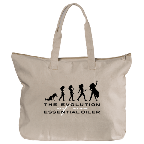 Zippered Tote - Evolution